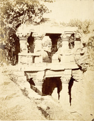 The Vethiya Wav: pavilion over the step-well, Mukhana, Kathiawar
